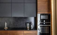 40+ Making Use Of Fashionable Black Kitchen Cabinets For Your