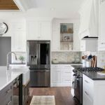 Beautifull Totally Modern Black And White Kitchen 41