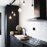 Beautifull Totally Modern Black And White Kitchen 49