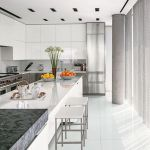 Beautifull Totally Modern Black And White Kitchen 61