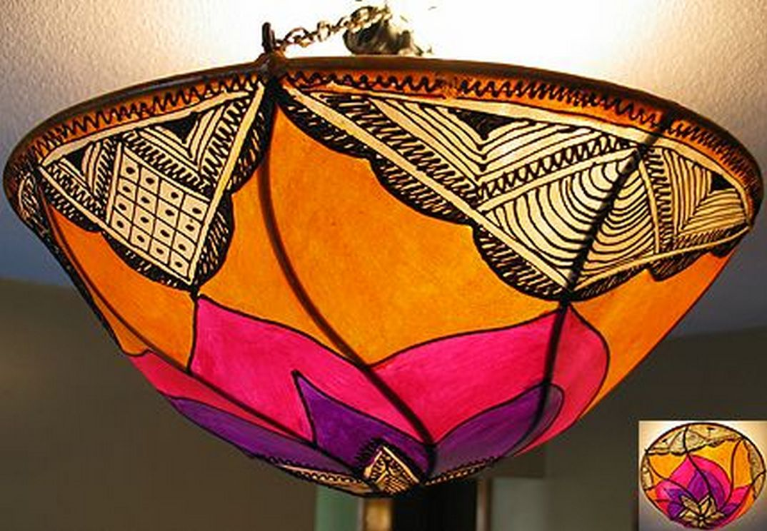 Breathtakingly Beautiful Moroccan Henna Lamps 15