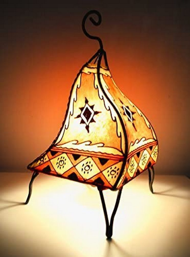 Breathtakingly Beautiful Moroccan Henna Lamps 19