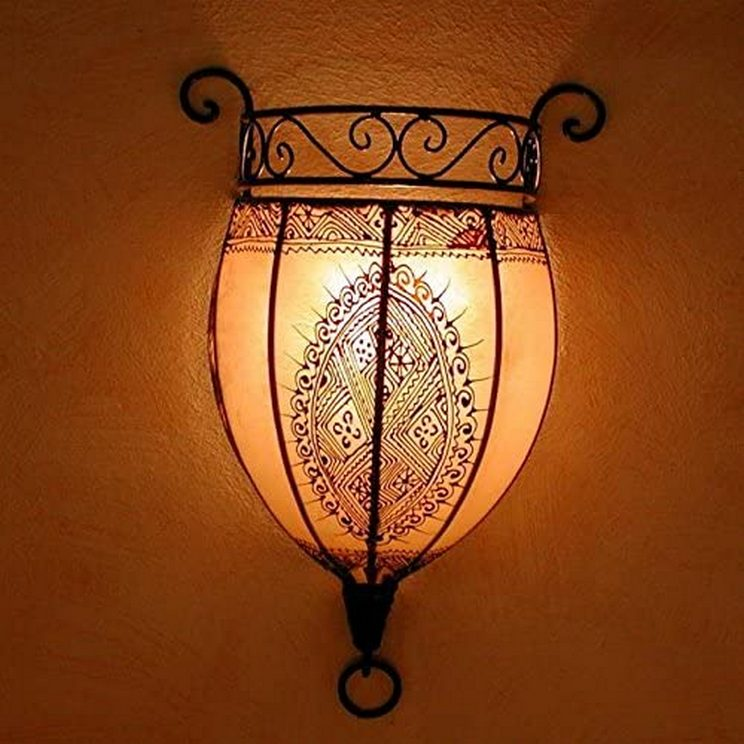 Breathtakingly Beautiful Moroccan Henna Lamps 21