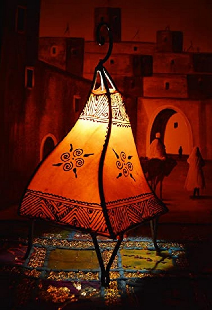Breathtakingly Beautiful Moroccan Henna Lamps 28