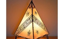 Breathtakingly Beautiful Moroccan Henna Lamps 46