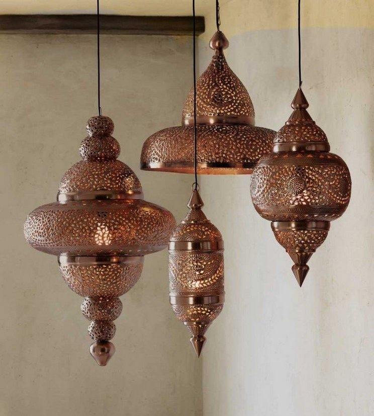 Breathtakingly Beautiful Moroccan Henna Lamps 57