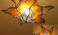 Breathtakingly Beautiful Moroccan Henna Lamps 65