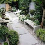 91 Small Backyard Landscape Decoration Models Are Simple And Look Creative 49