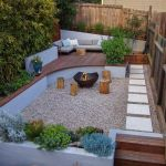91 Small Backyard Landscape Decoration Models Are Simple And Look Creative 73