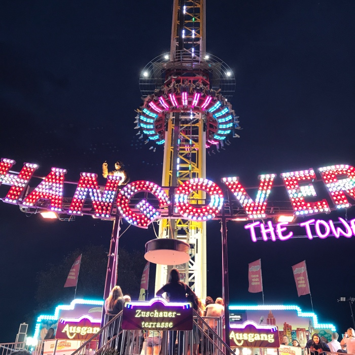 Hangover the Tower, attractie op de Duitse kermis