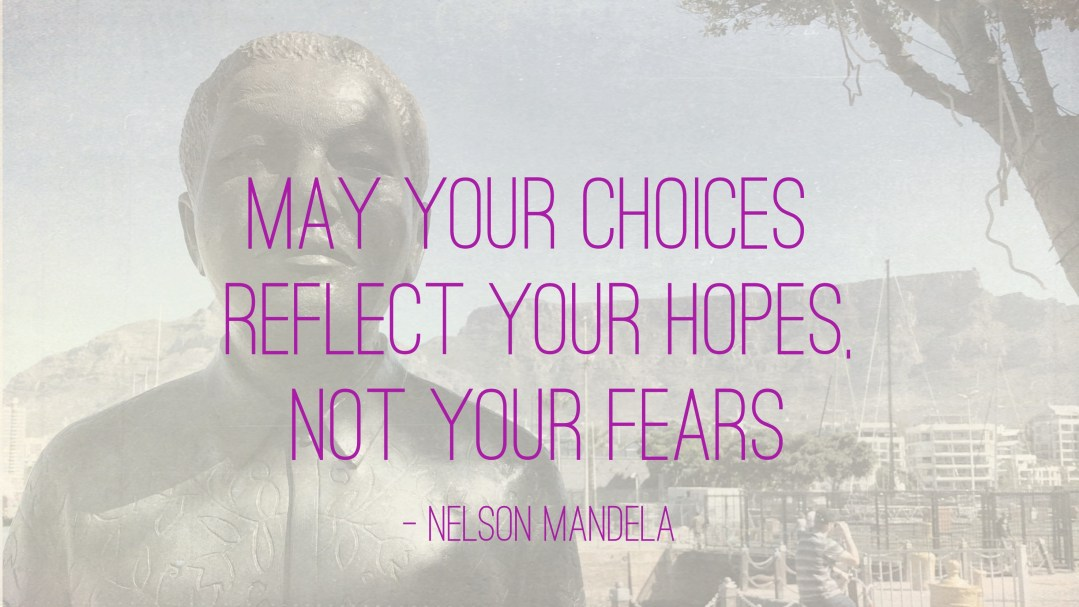 """Weer een week… #28: """"May your choices reflect your hopes, not your fears"""""""