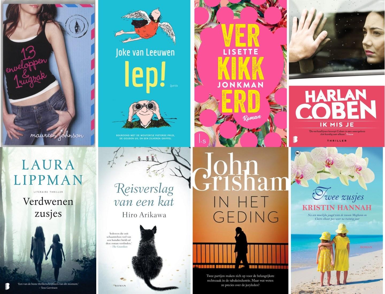 Op zoek naar nieuwe genres… lekker veel lezen!
