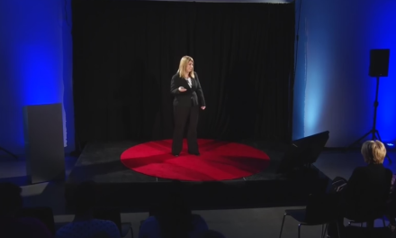 "TedX: ""Claim your power, your voice and be fearless!"""