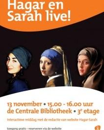 Hagar en Sarah live!