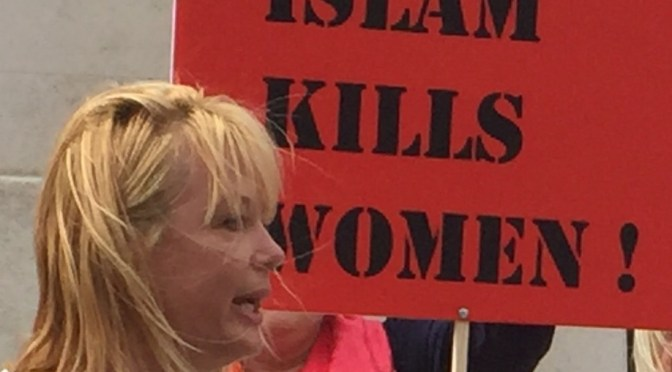 Speech London – Islam kills women