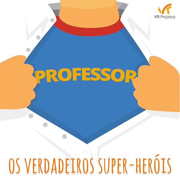 Um super-herói entre nós | Blog VR Projetos Blog VR Projetos