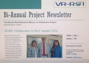 VRROI Newsletter