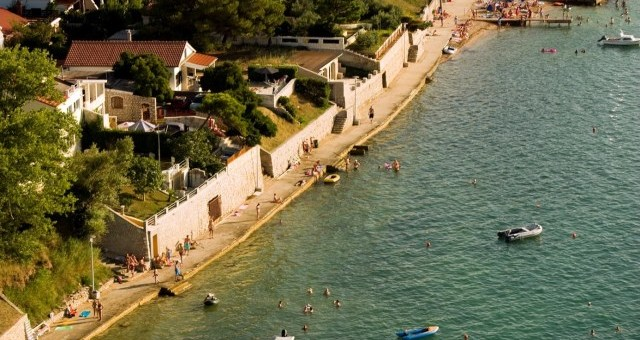 Construction of the coastal belt in Zukve