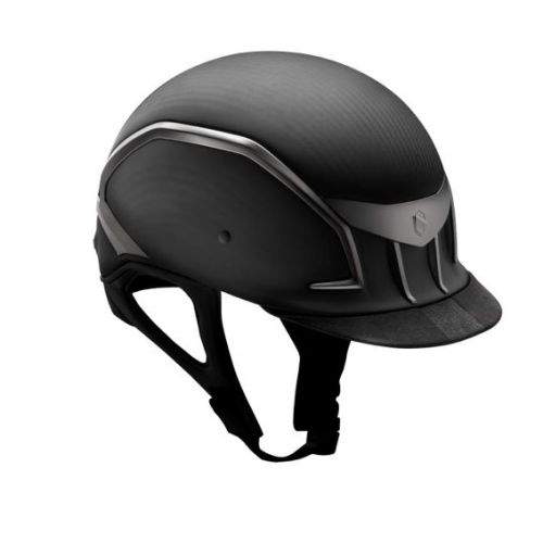 Samshield XC Matt Carbon Fiber Helmet in Black