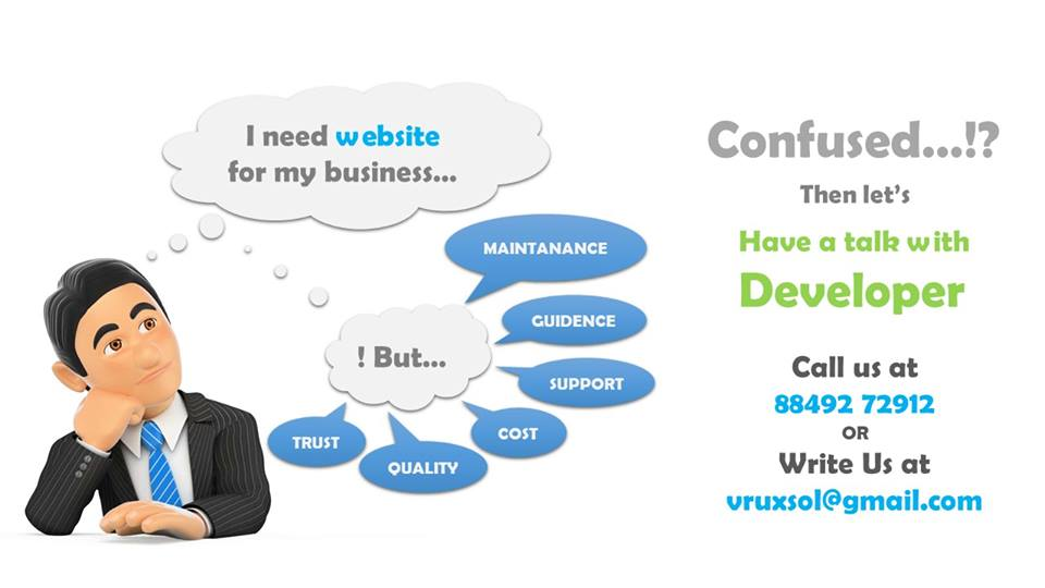vruxsol web website development surat
