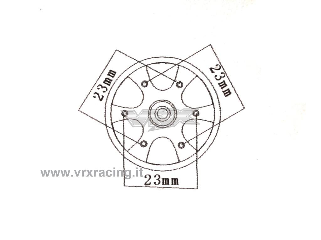 Motore Rocket Kv 1 5y Brushless Sensorless Per