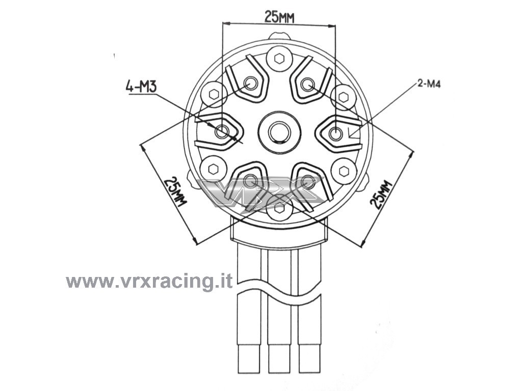 Combo Rocket 1 8 Motore Kv Sensorless