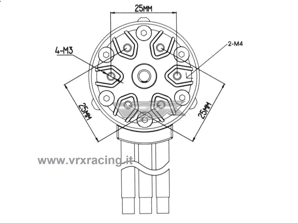 Motore Classic Rocket 1 8 Kv Brushless Sensorless