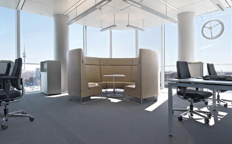 Moderne huis tafel als bureau moderne huis