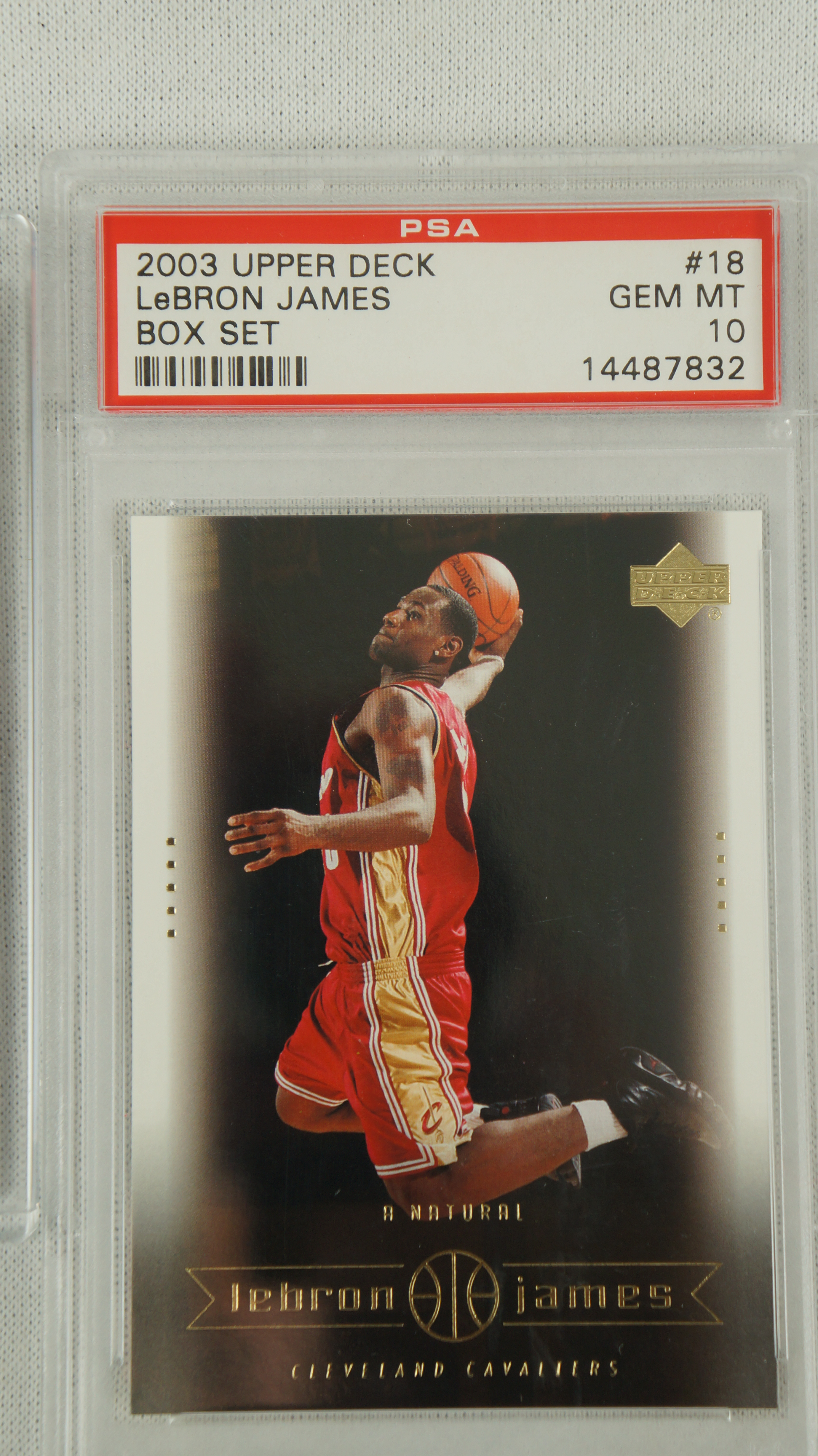 Lot Detail LeBron James Rookie Basketball Card Collection