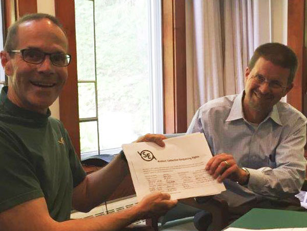 VSEA Rank And File Leaders Meet With Key Legislative Leaders