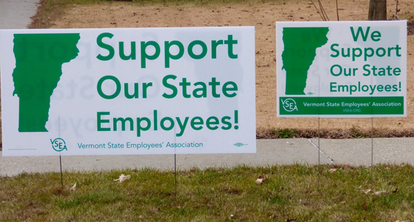 VSEA Support Our Vermont State Employees