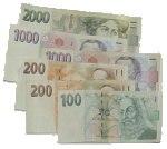 ilustrační peníze
