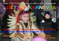 pozvánka na dětský karneval