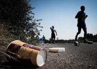 Miřejovický půlmaratón v roce 2012: občerstvovací stanice