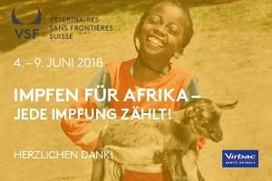 """""""Impfen für Afrika"""" 2018 – die Top-10-Tierarztpraxen"""