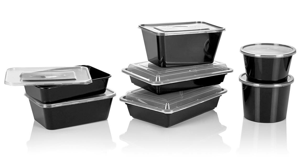 plastic microwave container 1000cc