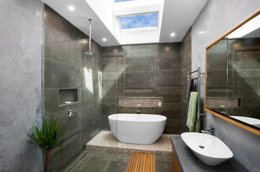 Make your Bathroom Brighter with a Velux Skylight