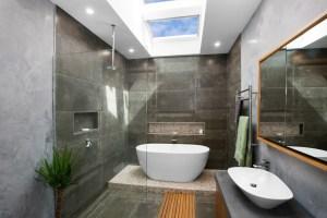 Velux Skylight in a Bathroom