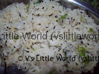 cumin rice