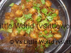 Punjabi Chole Masala / Chana Masala / Chickpeas Step by Step Recipe