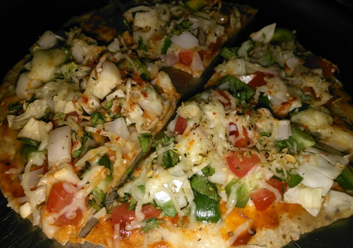 roti pizza