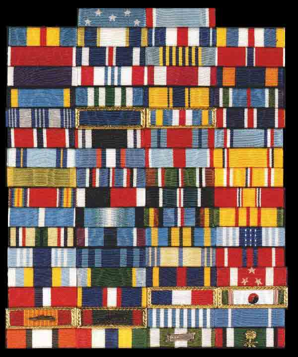 Awards and decorations of the united states military order for Air force decoration guide