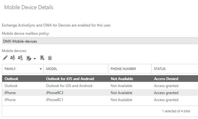 Solved] Access Denied, when adding a mobile device to Office