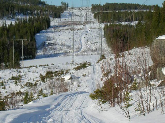 Vy från Grillstugan på Sjölidberget.