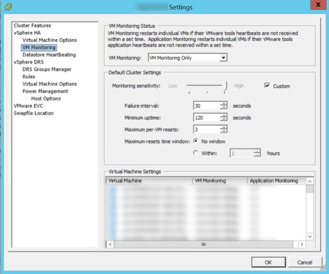 vm-monitoring-settings