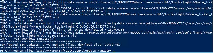 Configure Update Manager Download Service for VUM