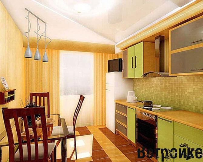 кухня 14 кв м дизайн фото 3
