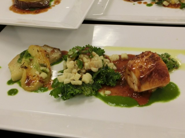 Mike Perry 2014 Iron Chef winning entree