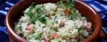 Салат от древних инков: киноа, огурец, помидор