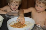Дети готовят Тирамису